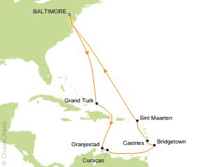 Cruise From Baltimore 2020.Carnival Caribbean Cruise 14 Nights From Baltimore