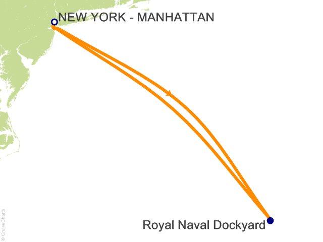 4 Night Bermuda from New York Cruise