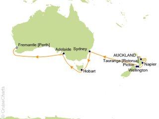 4 Night Australia / New Zealand Cruise on Celebrity ...
