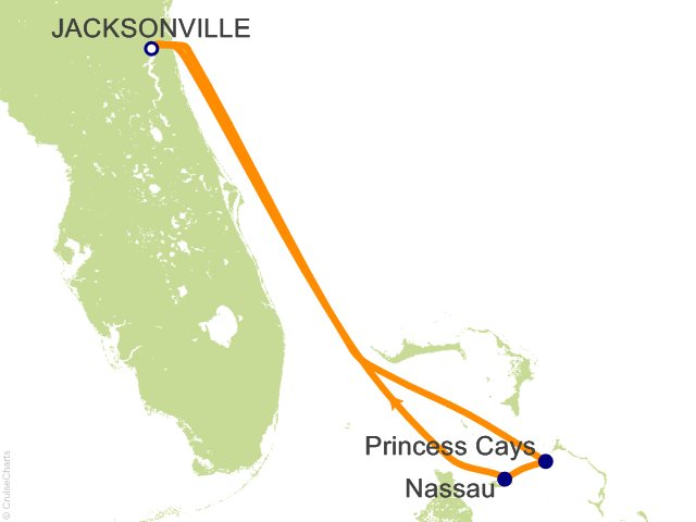 Carnival Bahamas Cruise, 5 Nights From Jacksonville, Carnival ... on