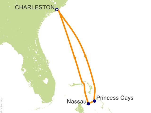 Carnival Bahamas Cruise, 5 Nights From Charleston, Carnival Sunshine