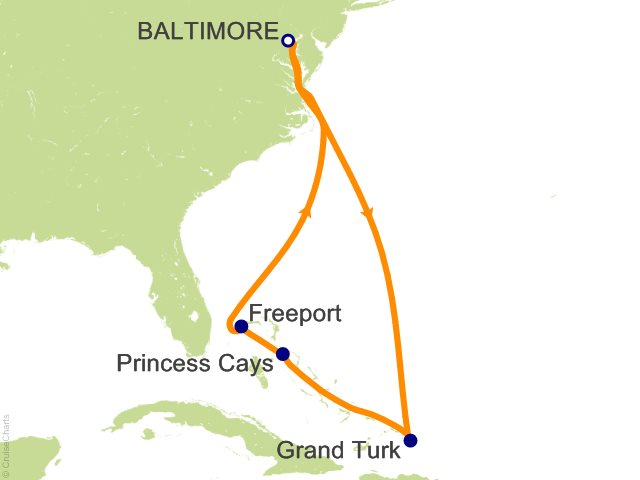 Night Eastern Caribbean From Baltimore Cruise On Carnival Pride - 3 day cruises from baltimore