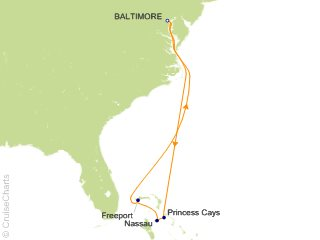 Cruise From Baltimore 2020.Carnival Bahamas Cruise 7 Nights From Baltimore Carnival