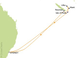 Carnival Tahiti / South Pacific Cruise, 9 Nights From Sydney ... on