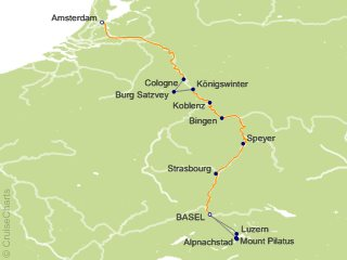 Saxon Tour Dates 2020 Tauck Tours Europe Cruise, 7 Nights From Basel (Saxon), Grace