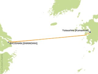 4 Night Best of Kumamoto Cruise from Baoshan