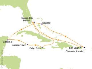 14 Night Caribbean Cruise from Miami