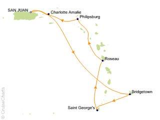 southern caribbean cruises 2020