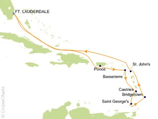 Southern Caribbean Cruise 2020.Royal Caribbean Caribbean Cruise 11 Nights From Fort