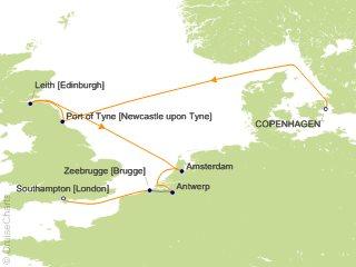 Azamara Club Cruises Europe - British Isles Cruise, 10 Nights From