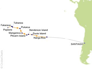 Lindblad Tahiti / South Pacific Cruise, 17 Nights From ... on map of bali, map of kwajalein, map of malaysia, map of french polynesia, map of bora bora, map of hawaii, map of new zealand, map of switzerland, map of thailand, map of moorea, map of brazil, map of seychelles, map of costa rica, map of south pacific, map of bahamas, map of austrailia, map of carribean, map of fiji, map of pacific ocean, map of spain,