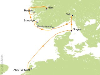 7 Night Viking Shores and Fjords Cruise from Amsterdam