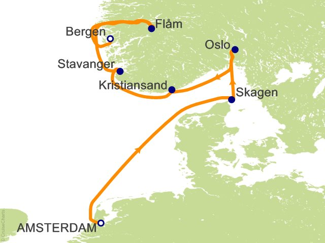 7 Night Viking Shores and Fjords Cruise