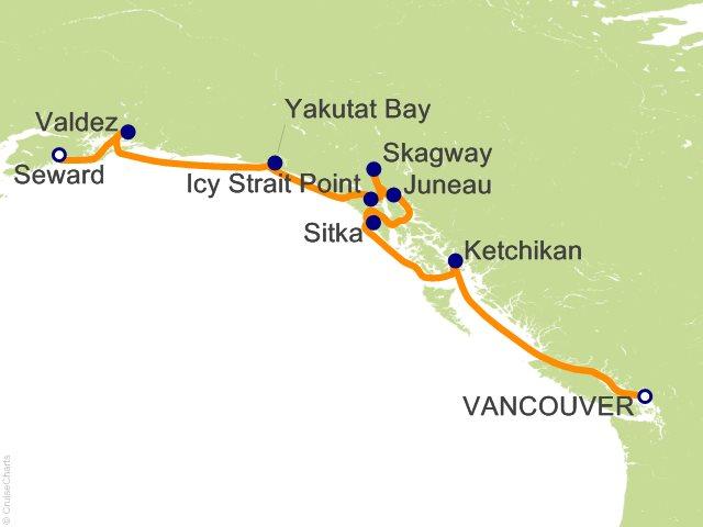 10 Night Alaska and the Inside Passage Cruise