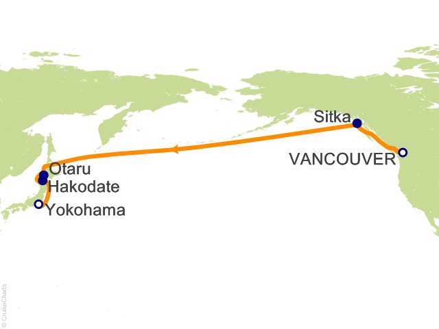 Celebrity Trans Pacific Cruises Cruise, 15 Nights From