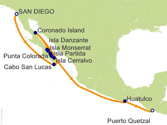 13 Night The Sea Of Cortez Cruise On Le Soleal From San