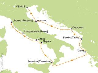 Oceania Mediterranean Cruise, 10 Nights From Venice, Nautica