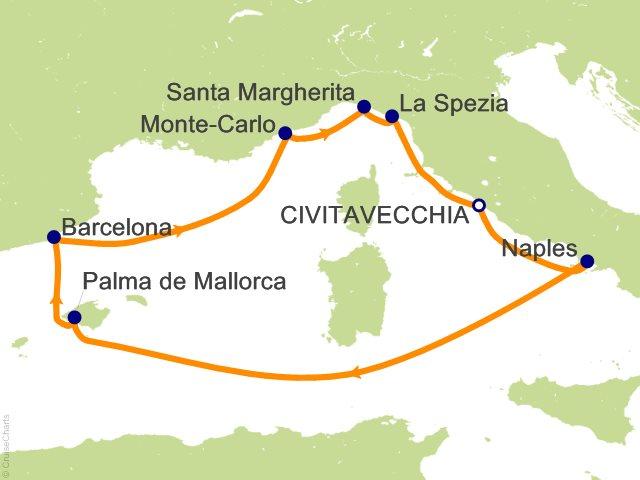 Celebrity Mediterranean Cruise, 10 Nights From Civitavecchia ... on italian regions italy map, frascati italy map, matera italy map, acireale italy map, montichiari italy map, florence italy map, lavagna italy map, chivasso italy map, poggio italy map, castelsardo italy map, marseilles italy map, avignon italy map, munich italy map, sezze italy map, kotor italy map, locri italy map, codroipo italy map, ports of italy map, palau italy map, marotta italy map,
