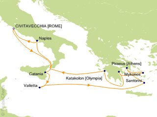 Cruise To The Edge 2020.Celebrity Mediterranean Cruise 11 Nights From Civitavecchia