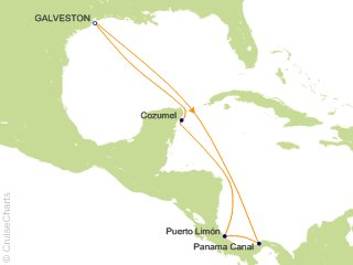 Carnival Panama Canal Cruise 9 Nights From Galveston