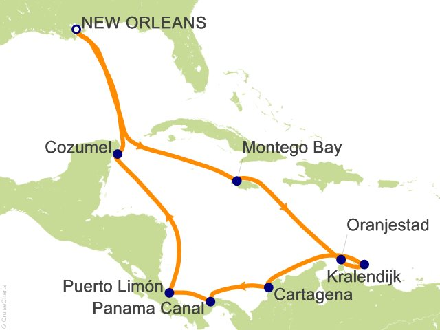 Carnival Panama Canal Cruise, 14 Nights From New Orleans ...