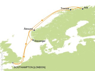 Princess Europe Cruise 12 Nights From Southampton