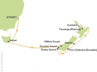 Celebrity Australia New Zealand Cruise 10 Nights From Sydney