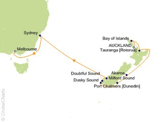 Celebrity Australia New Zealand Cruise 12 Nights From Auckland