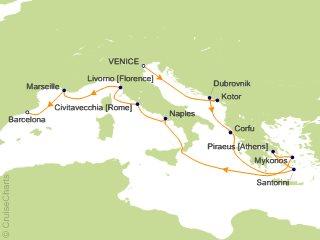 Ncl Mediterranean Cruise 12 Nights From Venice Norwegian Star November 10 2019 Icruise Com