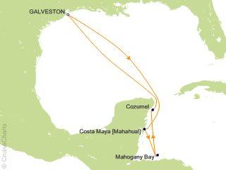 Cruise From Galveston 2020.Carnival Caribbean Cruise 6 Nights From Galveston Carnival