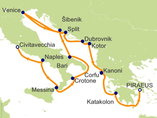 Viking Oceans Mediterranean Cruise 14 Nights From Athens Port Of Piraeus Viking Star June