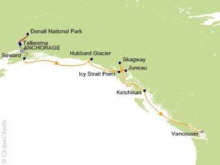 Alaska Cruise Tours 2020.Celebrity Alaska Cruise Tour 10 Night Authentic Tastes Of