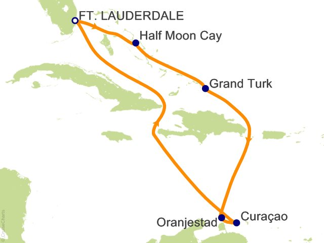 Carnival Caribbean Cruise, 8 Nights From Fort Lauderdale, Carnival on