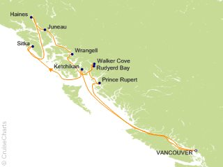 Silversea Alaska - Cruises Cruise, 10 Nights From Vancouver, Silver ...