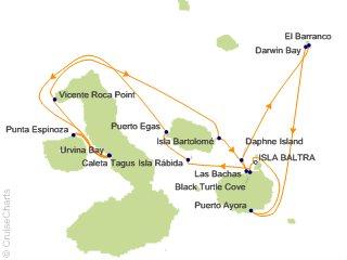 7 Night Galapagos Northern Loop Cruise from Baltra, Galapagos