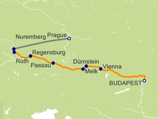 9 Night The Blue Danube Discovery with 2 Nights in Prague Cruise and Land Tour