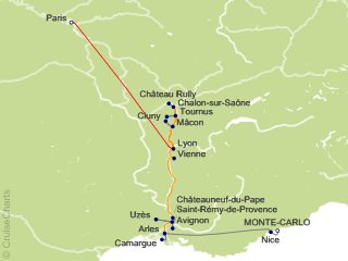 Tauck Tours Europe Cruise 13 Nights From Monte Carlo Emerald May