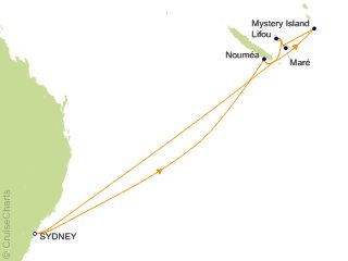 Carnival Tahiti / South Pacific Cruise, 10 Nights From Sydney ... on