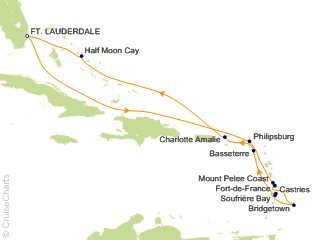 Southern Caribbean Cruise 2020.Holland America Caribbean Cruise 11 Nights From Fort