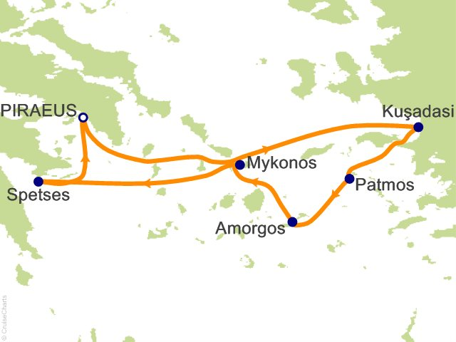 7 Night Northern Cyclades Cruise