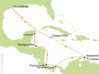 Cruise From Galveston 2020.Carnival Panama Canal Cruise 14 Nights From Galveston