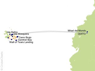10 Night Quito and Galapagos Southern Loop Cruise and Land Tour from Quito