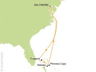 Cruise From Baltimore 2020.Carnival Bahamas Cruise 7 Nights From Baltimore Carnival