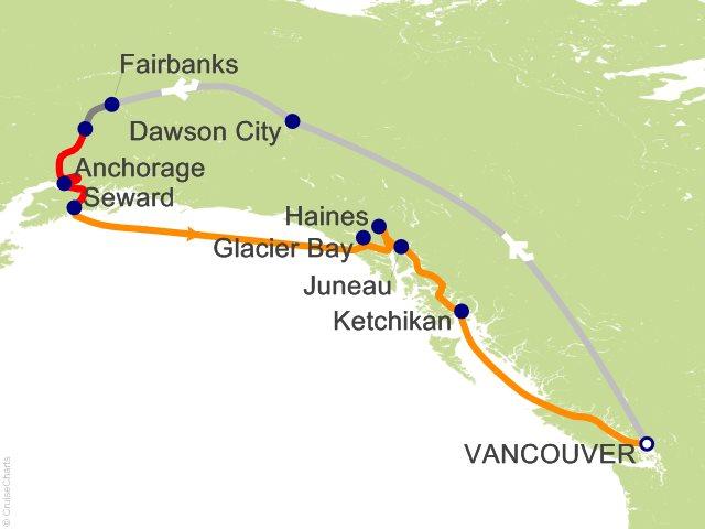 14 Night Yukon And Double Denali Cruise And Land Tour On