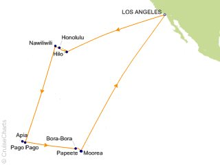 Princess Tahiti / South Pacific Cruise, 28 Nights From Los ... on hyampom california map, eldridge california map, lewiston california map, kelseyville california map, orick california map, hopland california map, mexico california map, escalon california map, carlotta california map, junction city california map, manchester california map, south bay area california map, redway california map, trinidad california map, arcata california map, elk california map, brisbane california map, myers flat california map, covelo california map, hoopa california map,