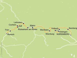 Ama Waterways Europe Cruise 7 Nights From Nuremberg Amadante