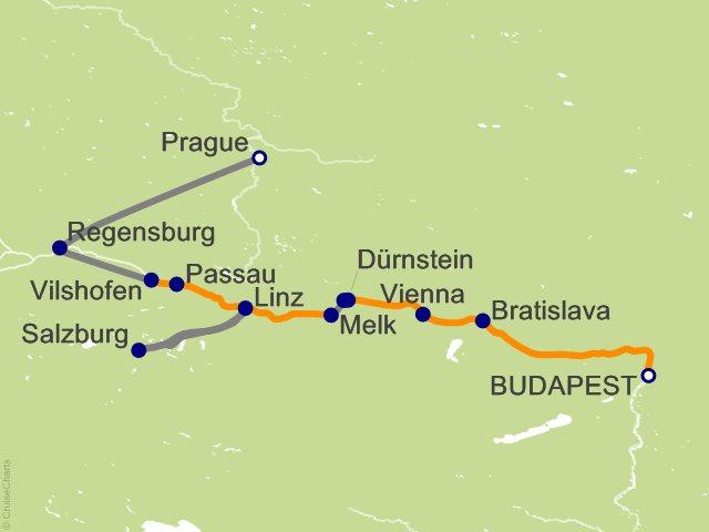 Budapest Christmas Markets Map.Ama Waterways Europe Cruise 12 Nights From Budapest Amalea