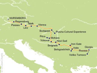 Ama Waterways Europe Cruise 14 Nights From Nuremberg Amacerto May