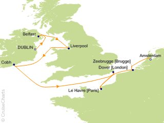 Celebrity Europe - British Isles Cruise, 12 Nights From ...