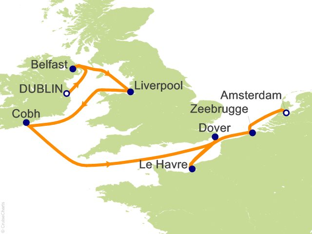 Celebrity Cruises British Isles Cruises
